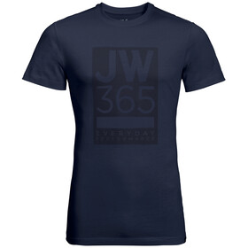 Jack Wolfskin 365 T-Shirt Homme, night blue